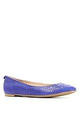 The Leighton Shoe in Indigo Blue