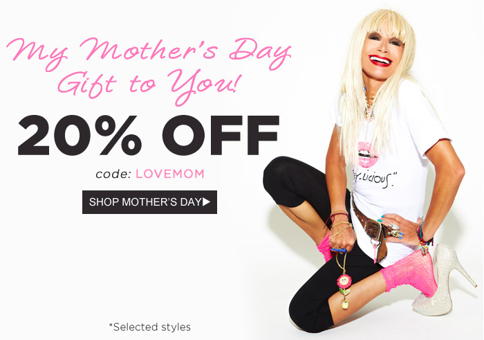 My Mother's Day Gift To You!
