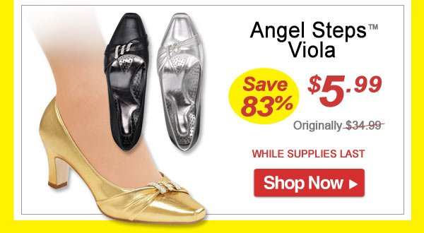 Angel Steps™ Viola - Save 83% - Now Only $5.99 Limited Time Offer