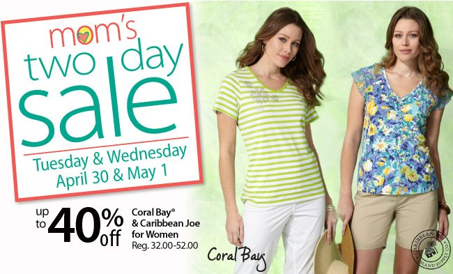 Moms's Two Day Sale