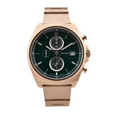 Green Five Eyes Chronograph Watch