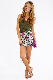 Floral Rhapsody Skirt $21