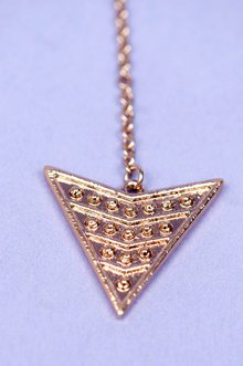 Bow and Arrow Necklace $10