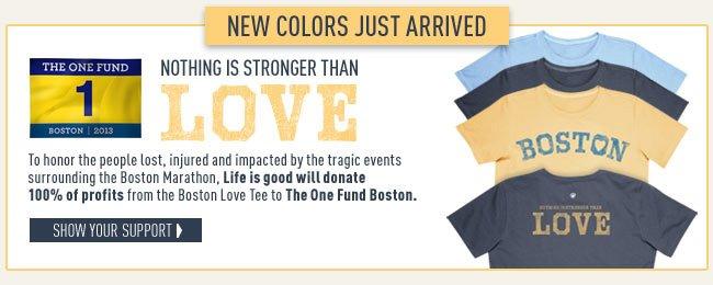 The Boston Love Tee