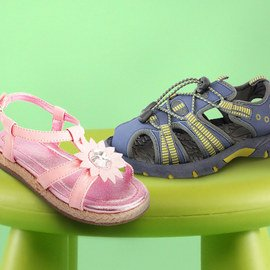 Summery Steps: Kids' Shoes