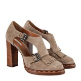 Taupe Moore Shoes