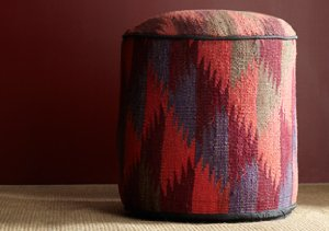 Eclectic Must-Have: Tribal Poufs