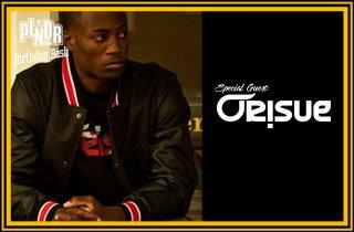 Special Guest: ORISUE