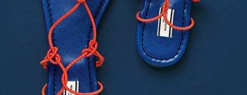 Missia patent flat sandal