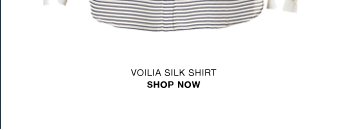 Voilia striped silk shirt