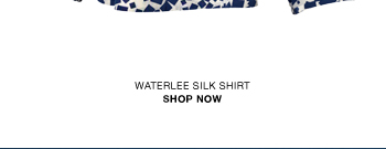 Waterlee printed silk shirt