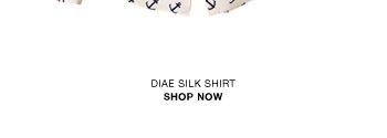 Diae printed silk shirt