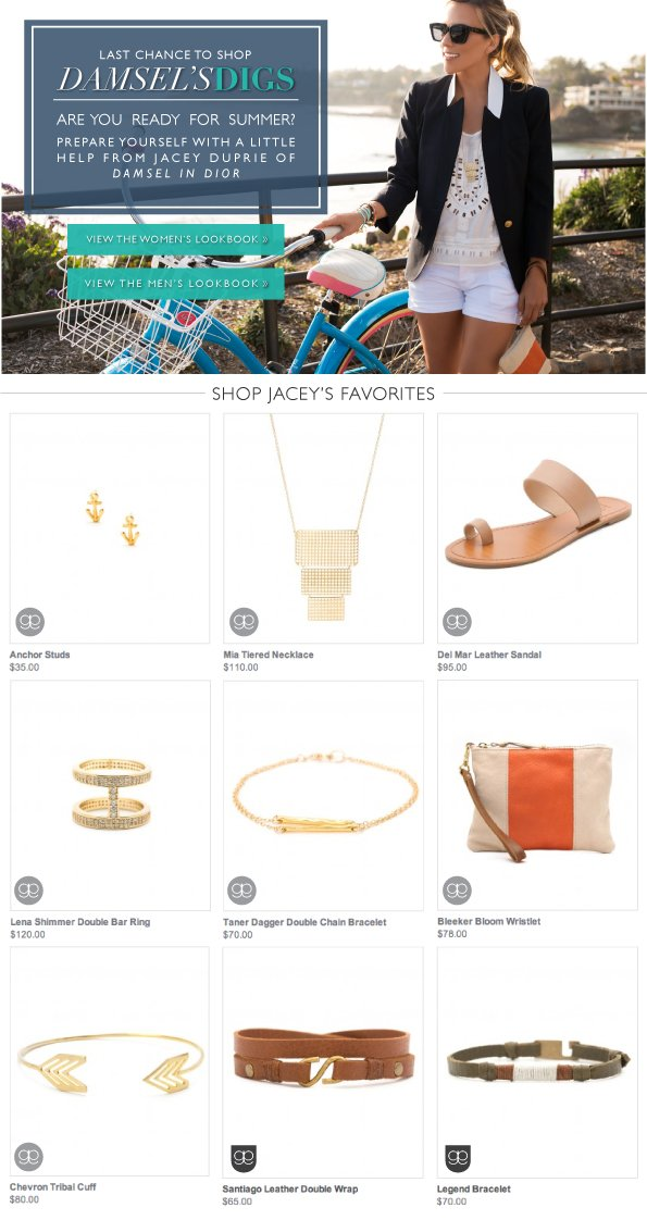 Last Chance to Shop | Damsel's Digs