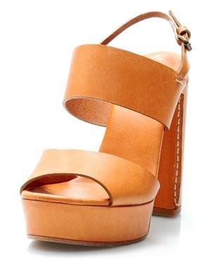 Chloe Elah Platformed Sandal - Made In Italy