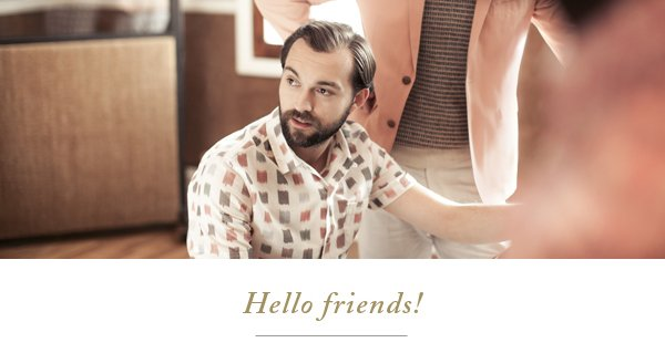 Thank you for signing up for emails from Ben Sherman