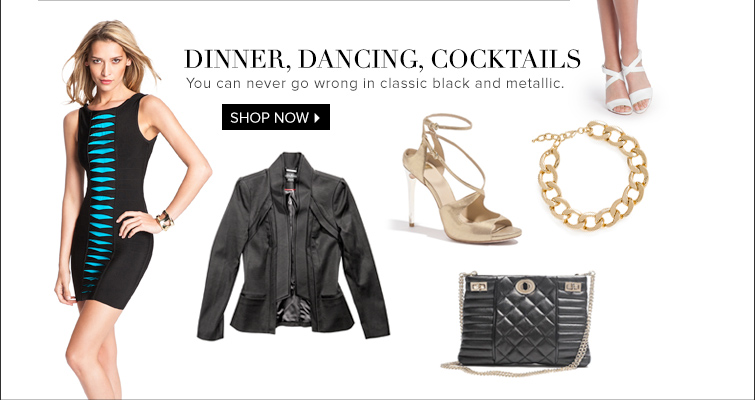 Dinner, Dancing, Cocktails