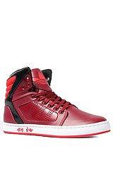 The Adi High EXT Sneaker in Cardinal, Vivid Red, & Black