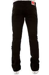 The Skate Life Stretch Chino in Black