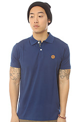 The Solid Keep Watch Polo in Blue