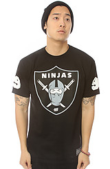 The Ninja Shield Tee in Black