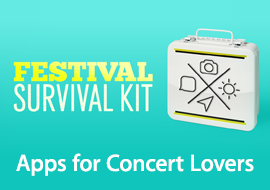 Festival Survival Guide - Apps for Concert Lovers