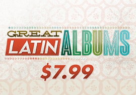 Great Latin Albums: $7.99