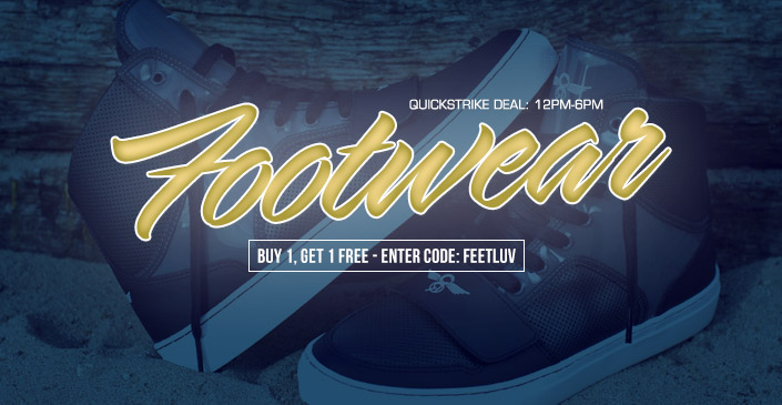 Footwear - Buy 1, Get 1 Free