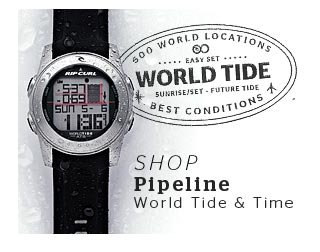 Shop Pipeline World Tide and Time