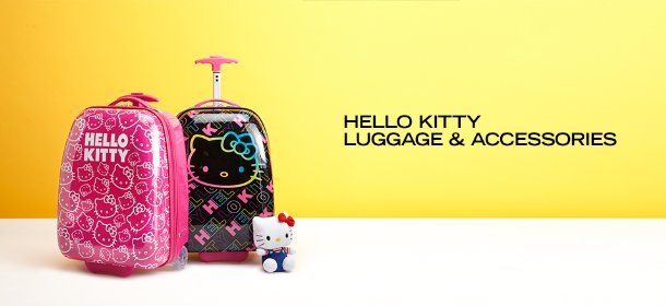 HELLO KITTY LUGGAGE & ACCESSORIES, Event Ends May 3, 9:00 AM PT >