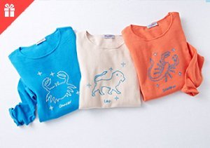 What's Her Sign: Zodiac Sweaters by Acrobat