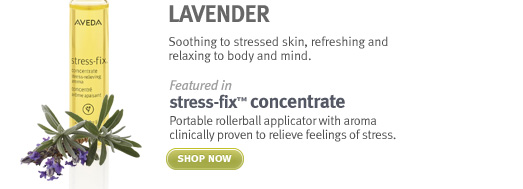 lavender. stress fix concentrate. shop now.