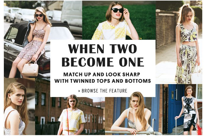 WHEN TWO BECOME ONE - Browse the Feature