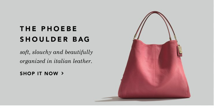phoebe shoulder bag