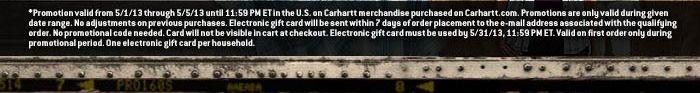 Spend $125 get a $20 e-gift card