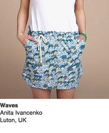 Waves - Design by Anita Ivancenko  / Luton, UK