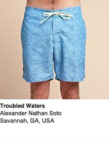 Troubled Waters - Design by Alexander Nathan Soto / Savannah, GA, USA