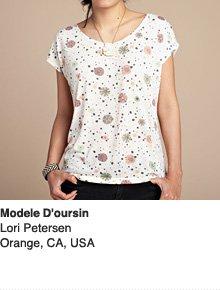 Modele D'oursin - Design by Lori Petersen / Orange, CA, USA