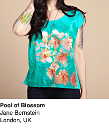 Pools of Blossom - Design by Jane Bernstein / London, UK