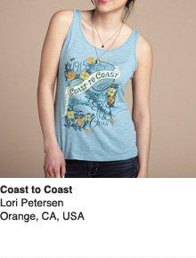 Coast to Coast - Design by Lori Petersen / Orange, CA, USA