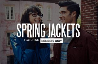 Spring Jackets Ft. Member's Only