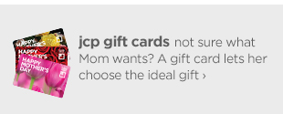 jcp gifts cards