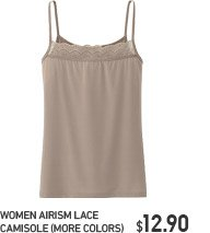 WOMEN AIRISM LACE CAMISOLE