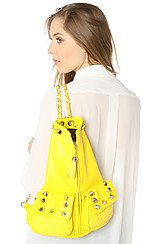 The Jagged Pill Backpack in Vibrant Yellow