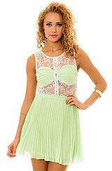 The Teenage Dream Dress in Lemonade