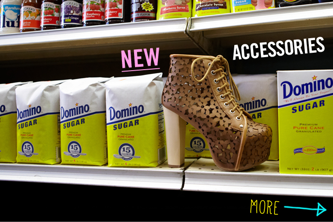 New... Accessories in aisle 6