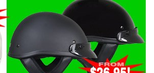 Outlaw T-70 Dot Approved Helmet - Only $26.95 with Coupon!