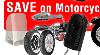 SAVE on Motorcycle Parts!