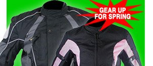 Gear Up for Spring with Tri-Tex Texile Jackets