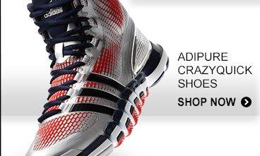 Shop Men's adipure Crazyquick Basketball Shoes »