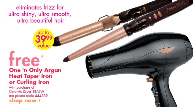 One 'n Only Argan heat Taper Iron or Curling Iron